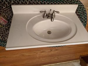 Vanity top and faucet ONLY for Sale in Moline, IL
