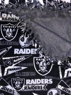 Las Vegas Raiders Fleece Blanket for Sale in North Las Vegas,  NV