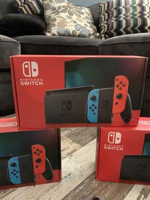 Nintendo switch console for Sale in Eddington, PA