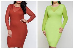 Beautiful Knit Rib Dress Plus Size Both Available for Sale in Greenville, MS