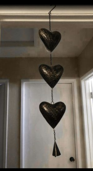Hanging Hearts Chime for Sale in Fontana, CA
