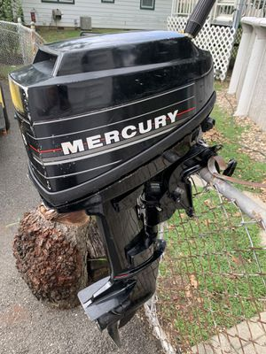 Mercury outboard motor 6hp for Sale in Haddonfield, NJ