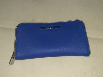 Micheal Kors Wallet Blue for Sale in Aurora,  CO