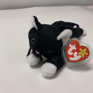 ZIP THE BLACK CAT #4004 TY BEANIE BABY RETIRED for Sale in Dalton, GA