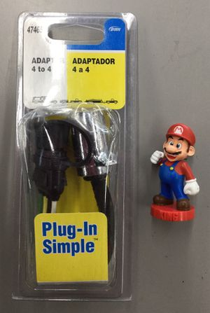 Hoppy Adapter 4 to 4 Plug-In Simple for Sale in Kent, WA