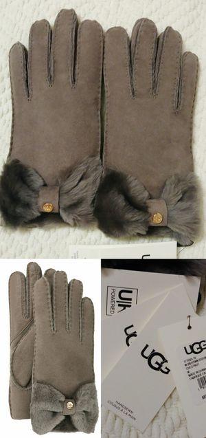 New with tags UGG Australia Ladies' Sheepskin Tech Bow Gloves - Size medium (retail $160) ⬇️ details below for Sale in Phoenix, AZ