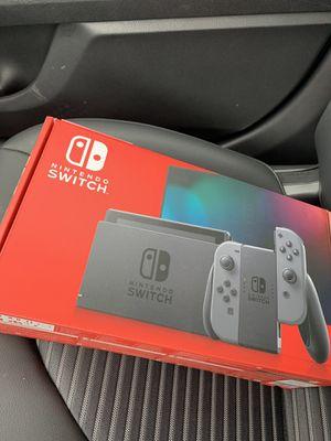 Nintendo Switch 32GB w/ Grey Joy Cons Brand New for Sale in Noblestown, PA