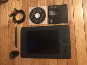 Wacom Intuos Pro Small Creative Pen & Touch Tablet for Sale in Baltimore, MD