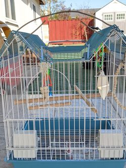 Bird Cage With Toys for Sale in Hayward,  CA