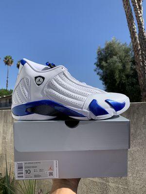 Jordan 14 Retro Hyper Royal Men's Size 10 for Sale in Los Angeles, CA