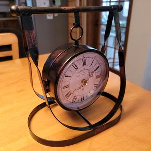 Amazing Design Clock And Thermometer for Sale in Sun Prairie, WI