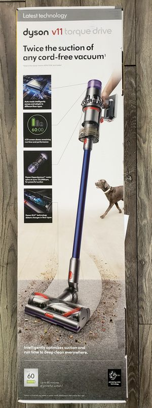 Dyson V11 Torque Drive Vacuum (BRAND NEW) PRCE IS FIRM for Sale in Los Angeles, CA