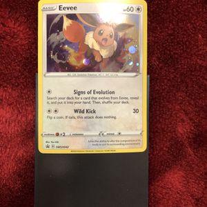 Eevee Pokemon Card for Sale in Phoenix, AZ