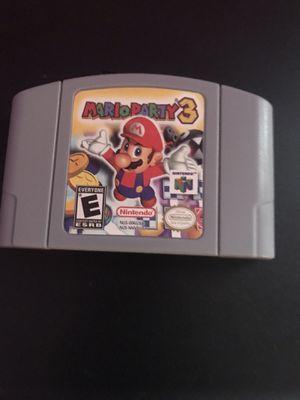 Mario Party 3 Nintendo 64 for Sale in Hialeah, FL