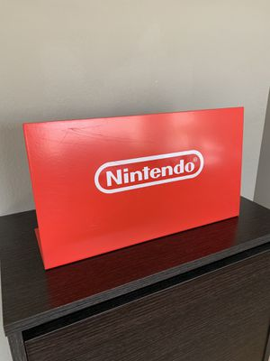 Metal Nintendo Switch 3DS Store Display Sign Authentic Original for Sale in Chino Hills, CA