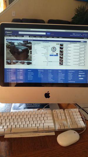 Apple Imac 20 inches Desktop for Sale in Moreno Valley, CA