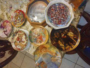 platos de colección for Sale in Fontana, CA