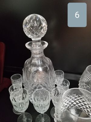 Waterford Crystal Spirit Decanter Set, Colleen for Sale in Bellevue, WA