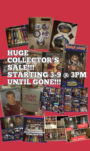 HUGE Collector's sale!!! Please read description below for details. for Sale in Mesa, AZ