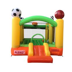 New in box Aleko inflatable playtime 4 in 1 bounce house (retail $430) for Sale in West Valley City,  UT