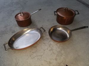 Copper cookware set for Sale in Los Angeles, CA