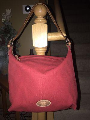Dooney & Bourke Red Canvas Shoulder Bag for Sale in Monticello, MN