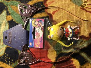 sailor moon magnet and headband for Sale in San Antonio, TX