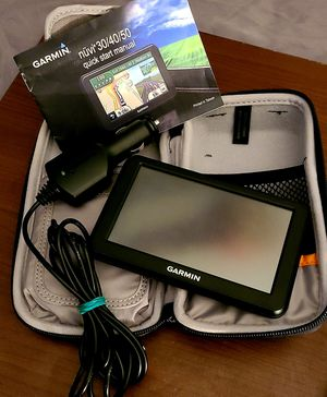 Garmin Nuvi 30/40/50 GPS System w/case for Sale in Lewisville, TX
