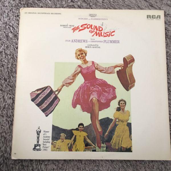 The Sound Of Music Soundtrack Lp Vinyl Record