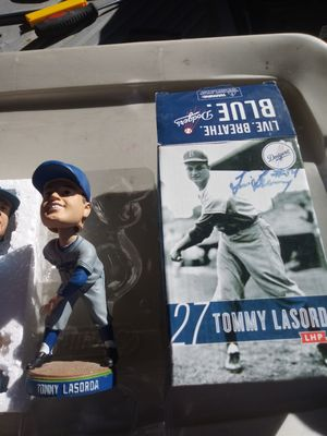 Dodgers bobbleheads lasorda either. Dodgers light for Sale in Lancaster, CA