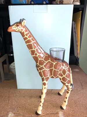 Partylite giraffe votive candle holder for Sale in Plainfield, IL
