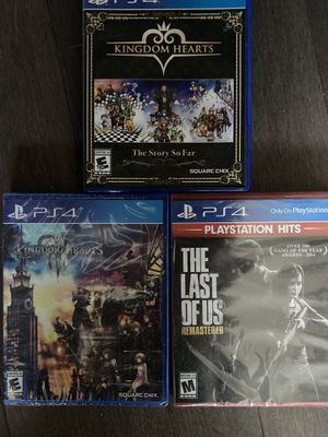used/new sealed playstation ps4 games for Sale in San Mateo, CA
