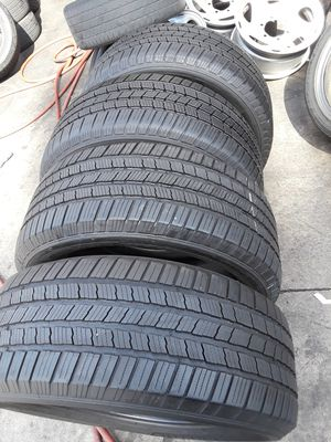 "Michelin tires 255 50 19"" with 80% for Sale in El Monte, CA"