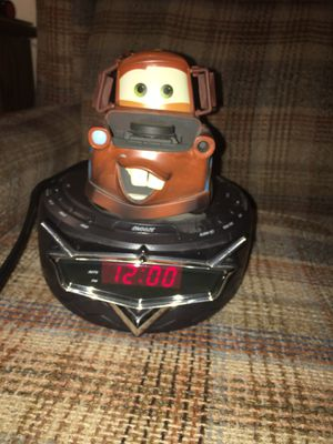 "Disney Pixar cars ""towmator"" digital alarm clock-and radio for Sale in Culloden, WV"