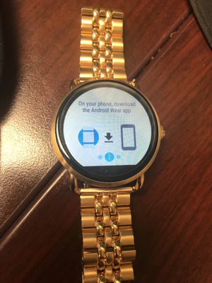 Fossil gold smart watch for Sale in Grand Prairie, TX