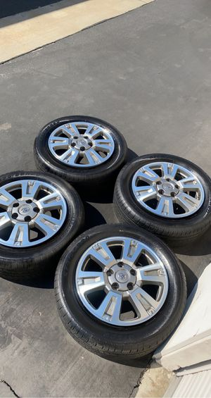 Toyota Tundra Platinum 1794 edition wheels and tires rims for Sale in El Cajon, CA