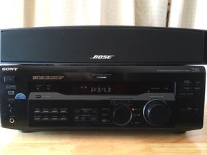 Bose Speaker & Sony 100w Receiver Excellent Sound for Sale in Lynnwood, WA