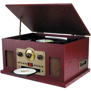 Nostalgia 5-in-1 Turntable/CD/Radio/Cassette Player for Sale in Rocky Mount, VA
