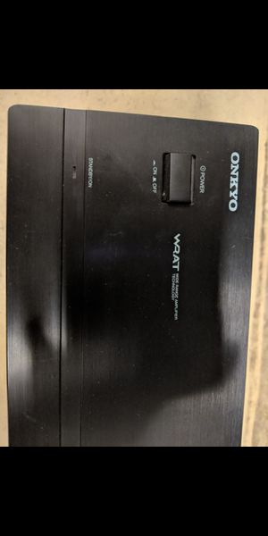 Onkyo M-282 2 Channel Power Amplifier for Sale in Snohomish, WA