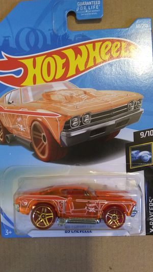 Hotwheels treasure hunt 69 chevelle for Sale in Coffeyville, KS
