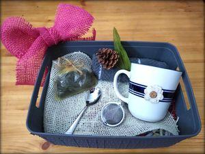 Freshly imported tea from Baghdad, tea ball strainer, custom mug for Sale in Salt Lake City, UT