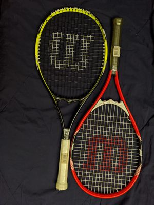 Wilson tennis rackets for Sale in Fremont, CA
