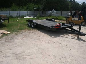 car hauler trailer for Sale in Humble, TX