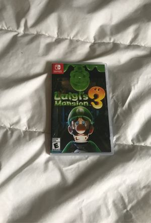 Luigi mansion 3 for Sale in New Port Richey, FL