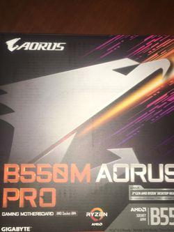 AORUS B550M Pro Amd Ryzen AM4 for Sale in Fresno,  CA