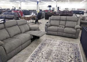 Brand New Simmons Reclining Sectionals with warranties. $10 down. Same day delivery for Sale in Indianapolis, IN