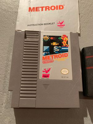 Nintendo Metroid adventure series. With instruction book and case for Sale in PA, US