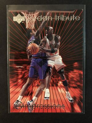 Michael Jordan 1997 Upper Deck Basketball Card. Air Jordan Chicago Bulls Basketball Trading Card for Sale in Chicago, IL