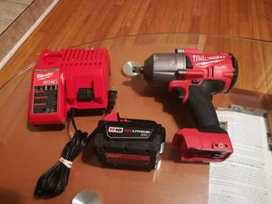 Milwaukee 1/2 impact wrench 1400ft/lbs for Sale in Chicago, IL