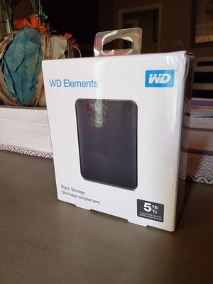 WD external hard drive (5tb) for Sale in Sherman, TX